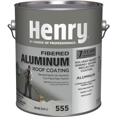 Henry 1 Gal. Fibered Aluminum Roof Coating