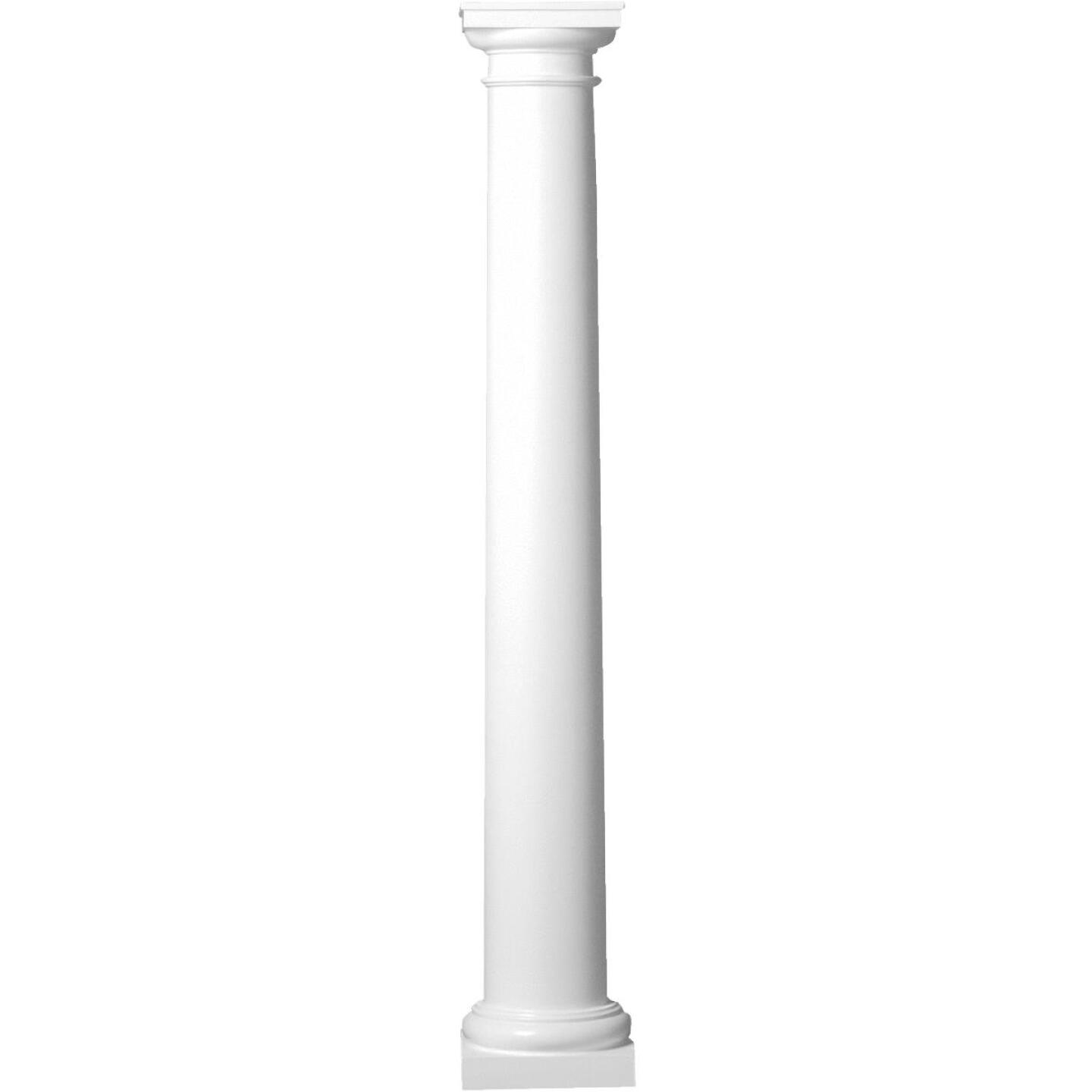 Crown Column 10 In. x 8 Ft. Unfinished Round Fiberglass Column Image 1