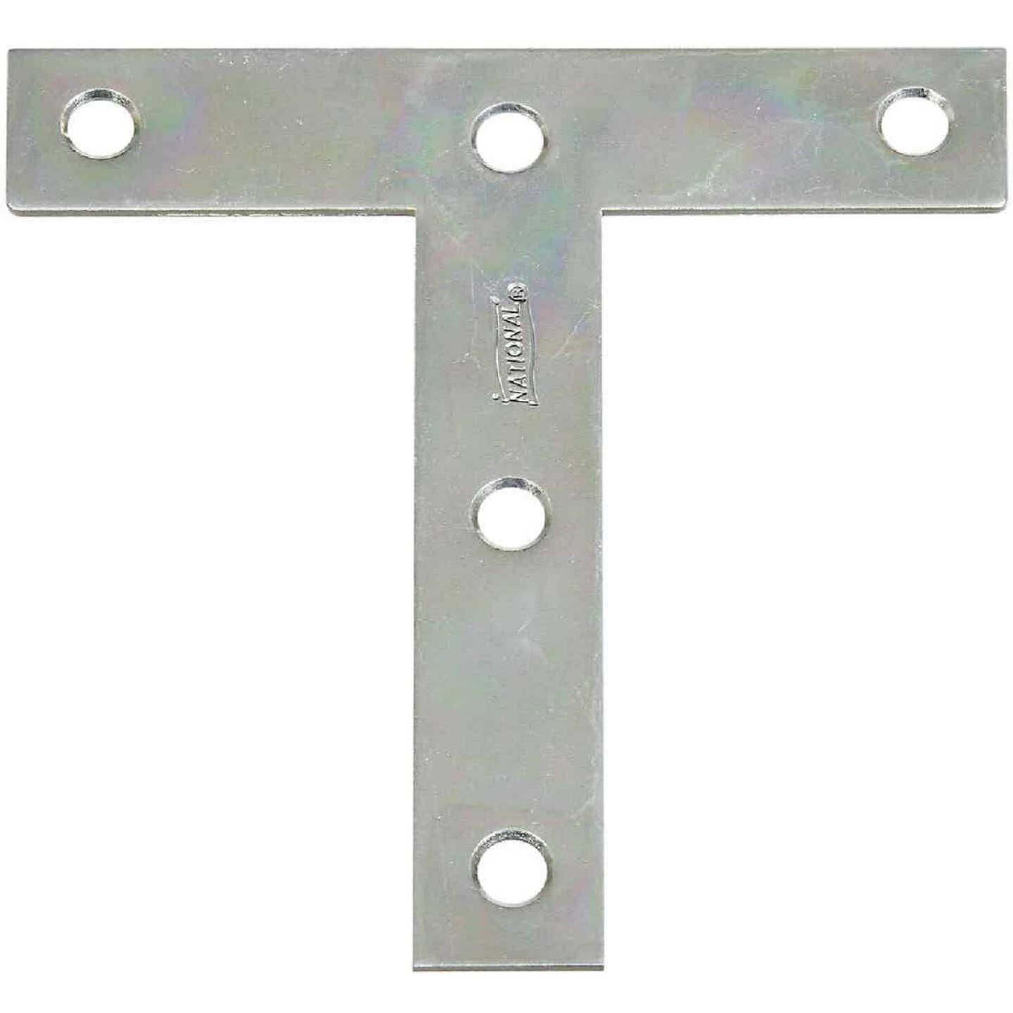 """National 4"""" x 4"""" Zinc T-Plate, (2-Pack) Image 1"""
