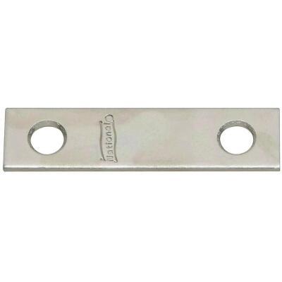 National Catalog 118 2 In. x 1/2 In. Zinc Steel Mending Brace (4-Count)