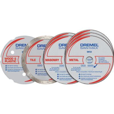 Dremel Cut-Off Wheel Set, 7-Pieces