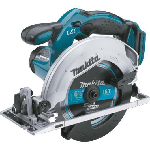 Makita 18 Volt LXT Lithium-Ion 6-1/2 In. Cordless Circular Saw (Bare Tool)