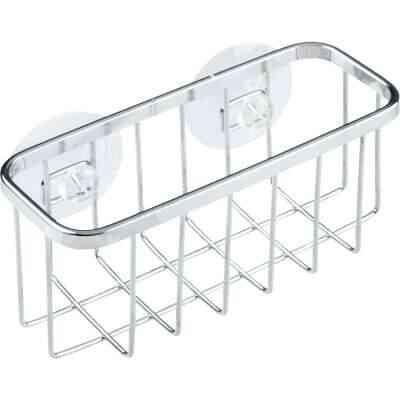 InterDesign Sinkworks Suction Sink Center Sponge Holder