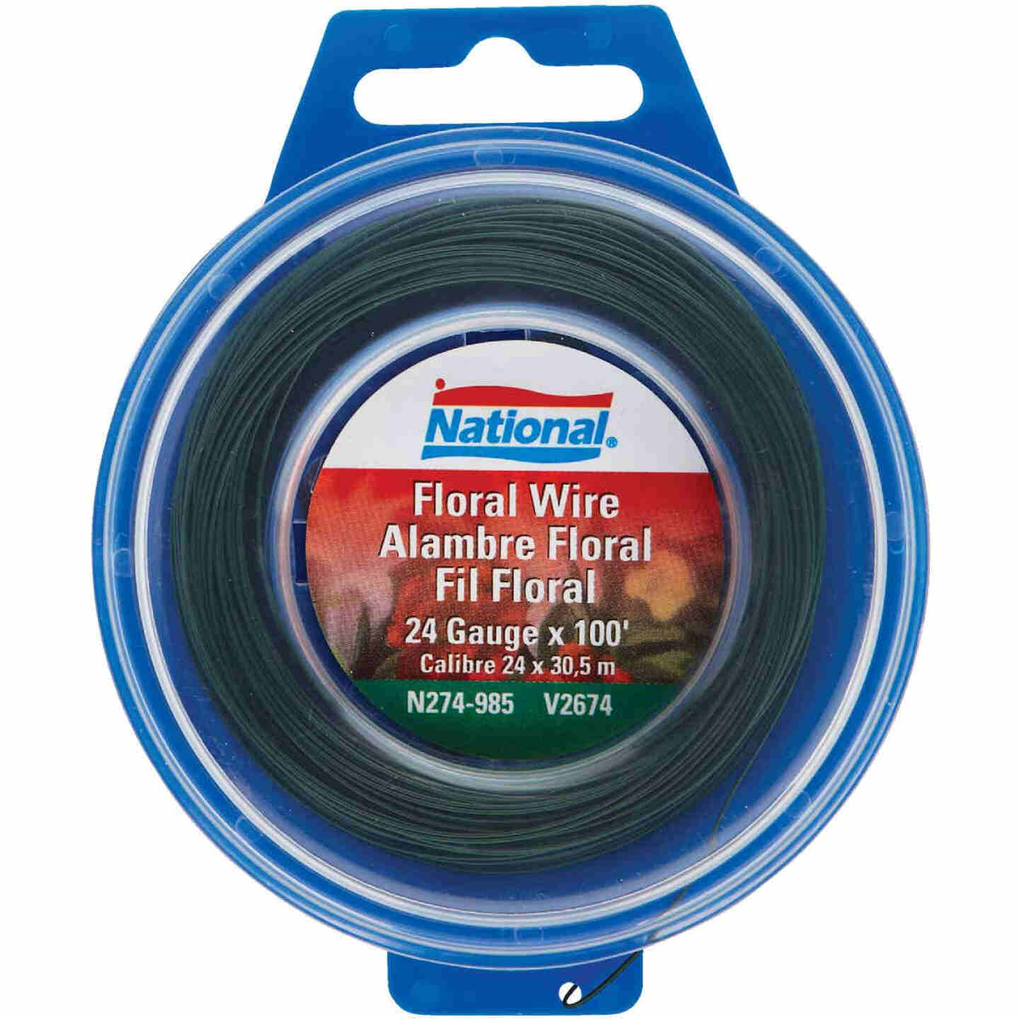 National 100 Ft. Floral And Craft Wire Image 1