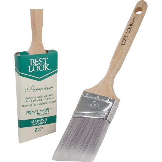 Best Look Premium 2.5 In. Angle Nylyn Paint Brush